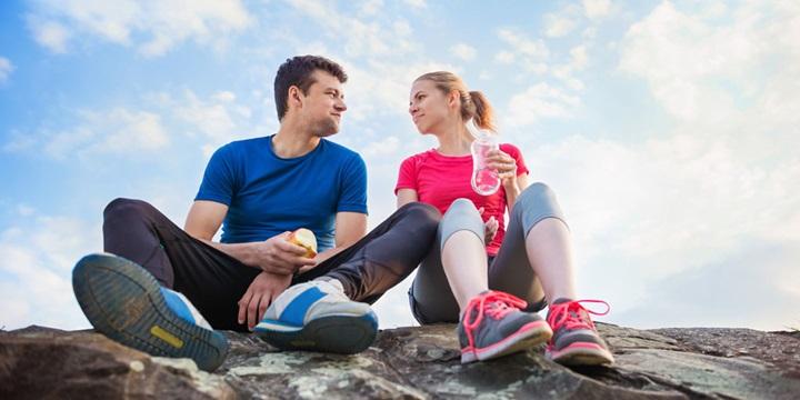Comer antes y despues de las carreras